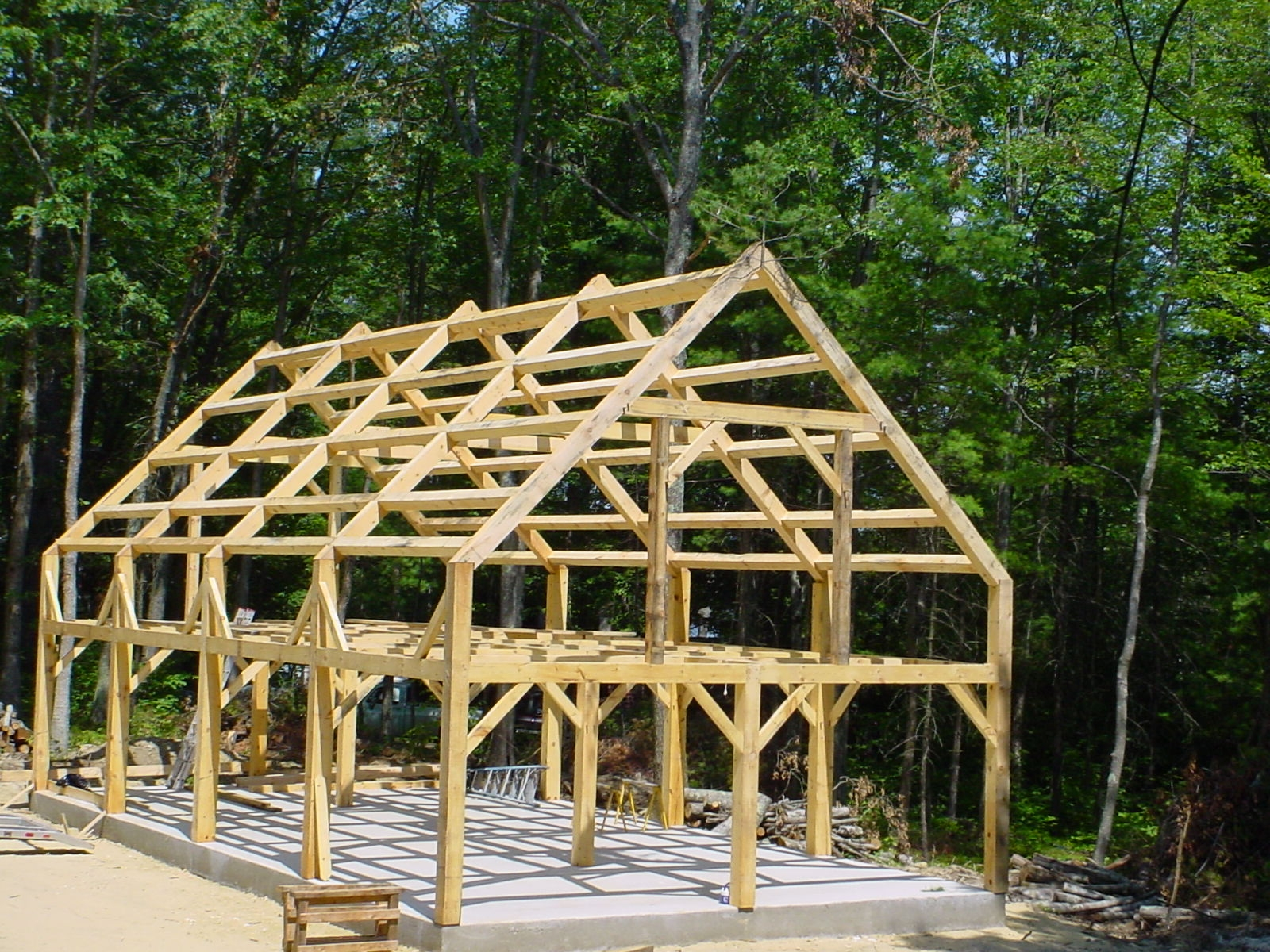 Solanna Homes Timber Frame Home And Cabin Builder