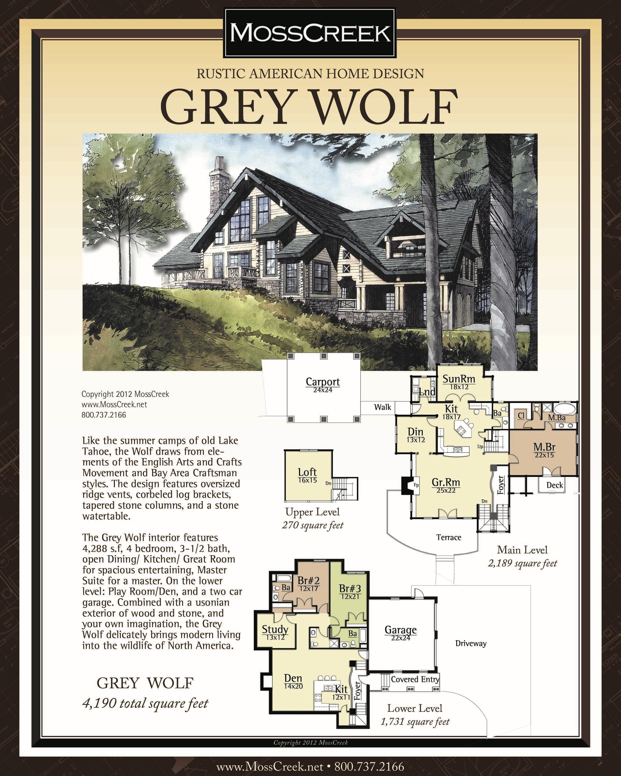 Grey Wolf 8x10 Beige